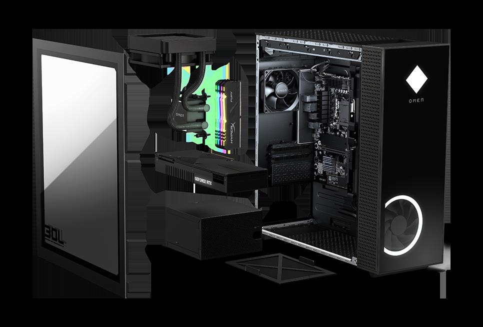 HP presenta ufficialmente i desktop OMEN 25L e 30L 1