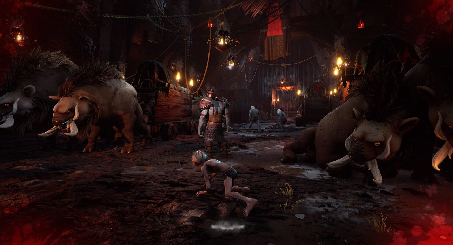 The Lords of the Rings Gollum si mostra nei primi screenshots 2