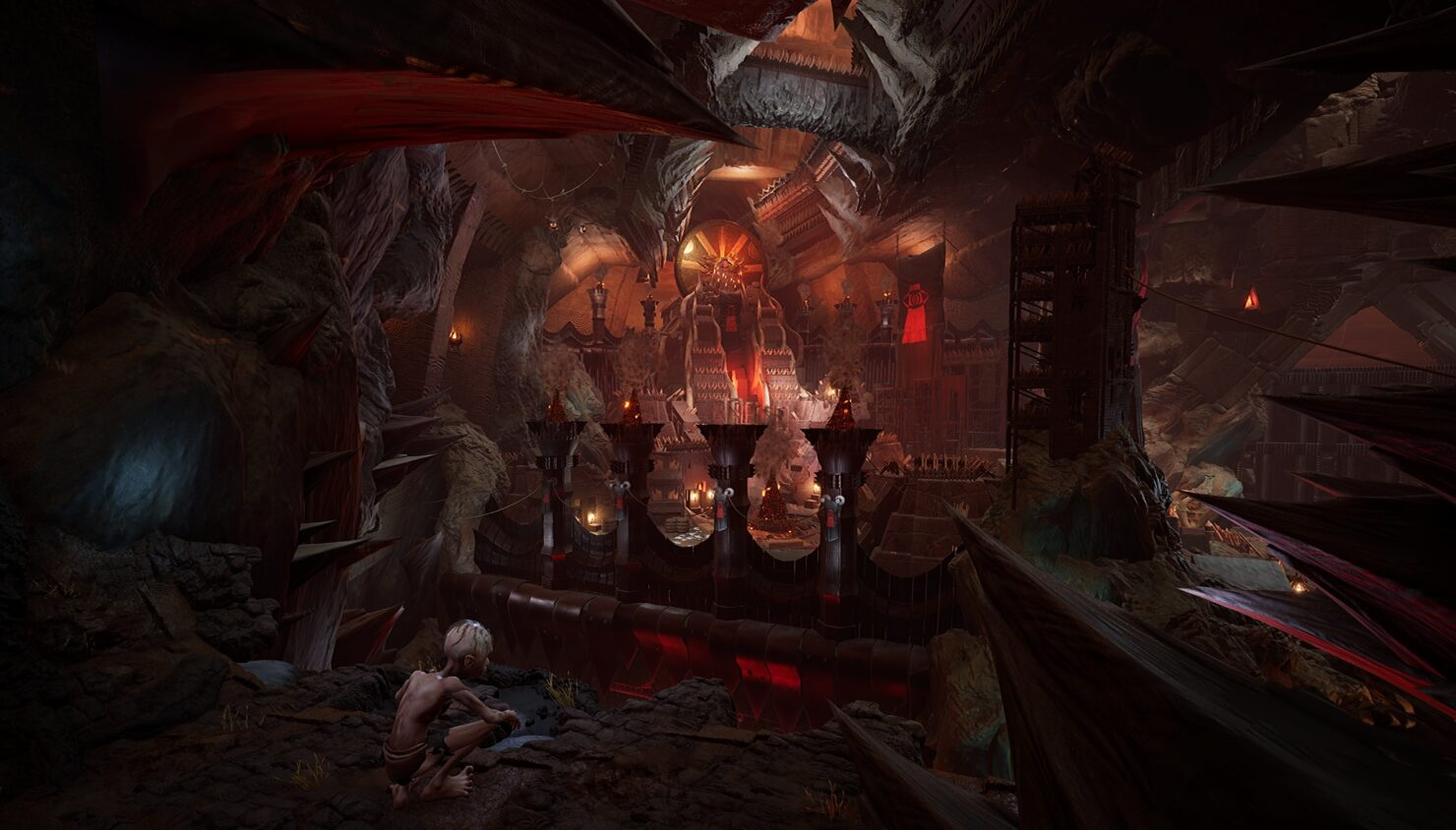 The Lords of the Rings Gollum si mostra nei primi screenshots 1