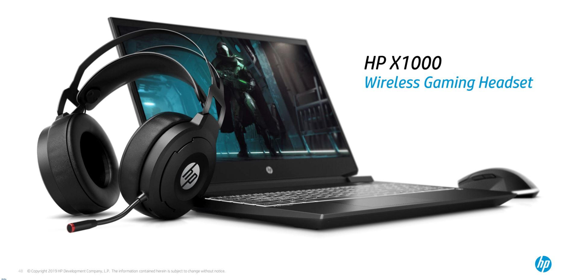 HP X1000 Wireless Headset