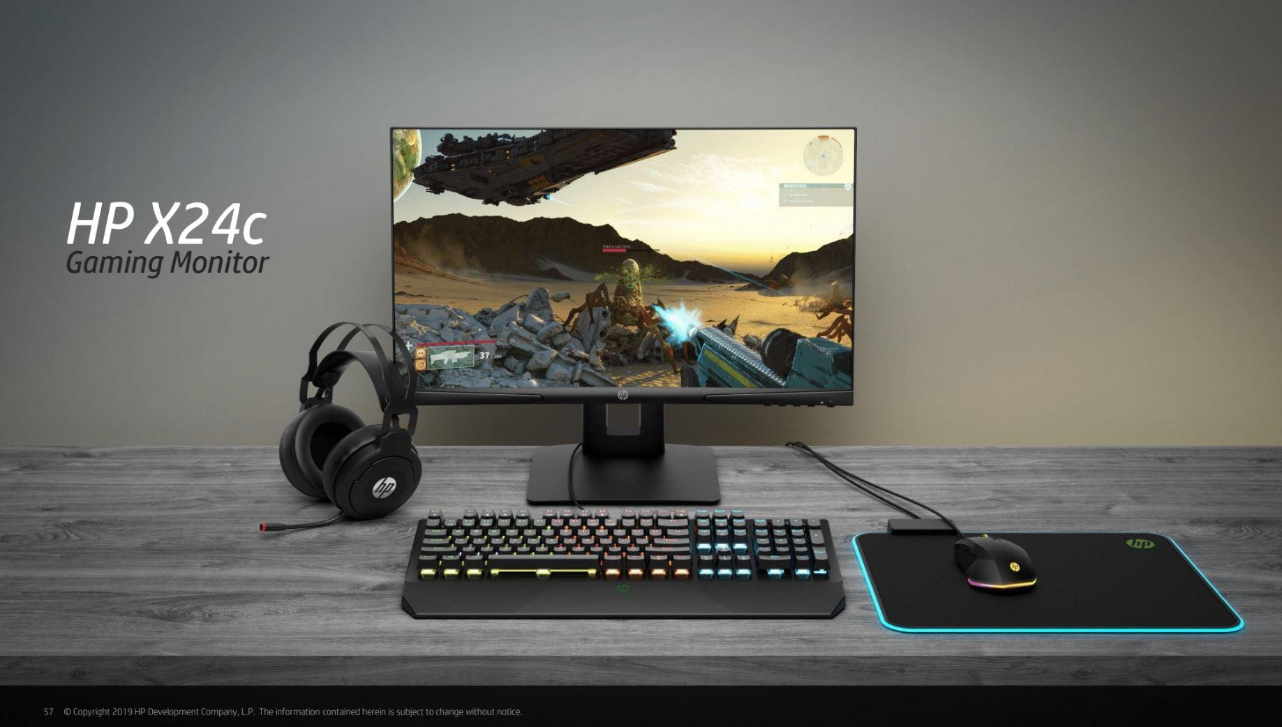 HP X24c Monitor