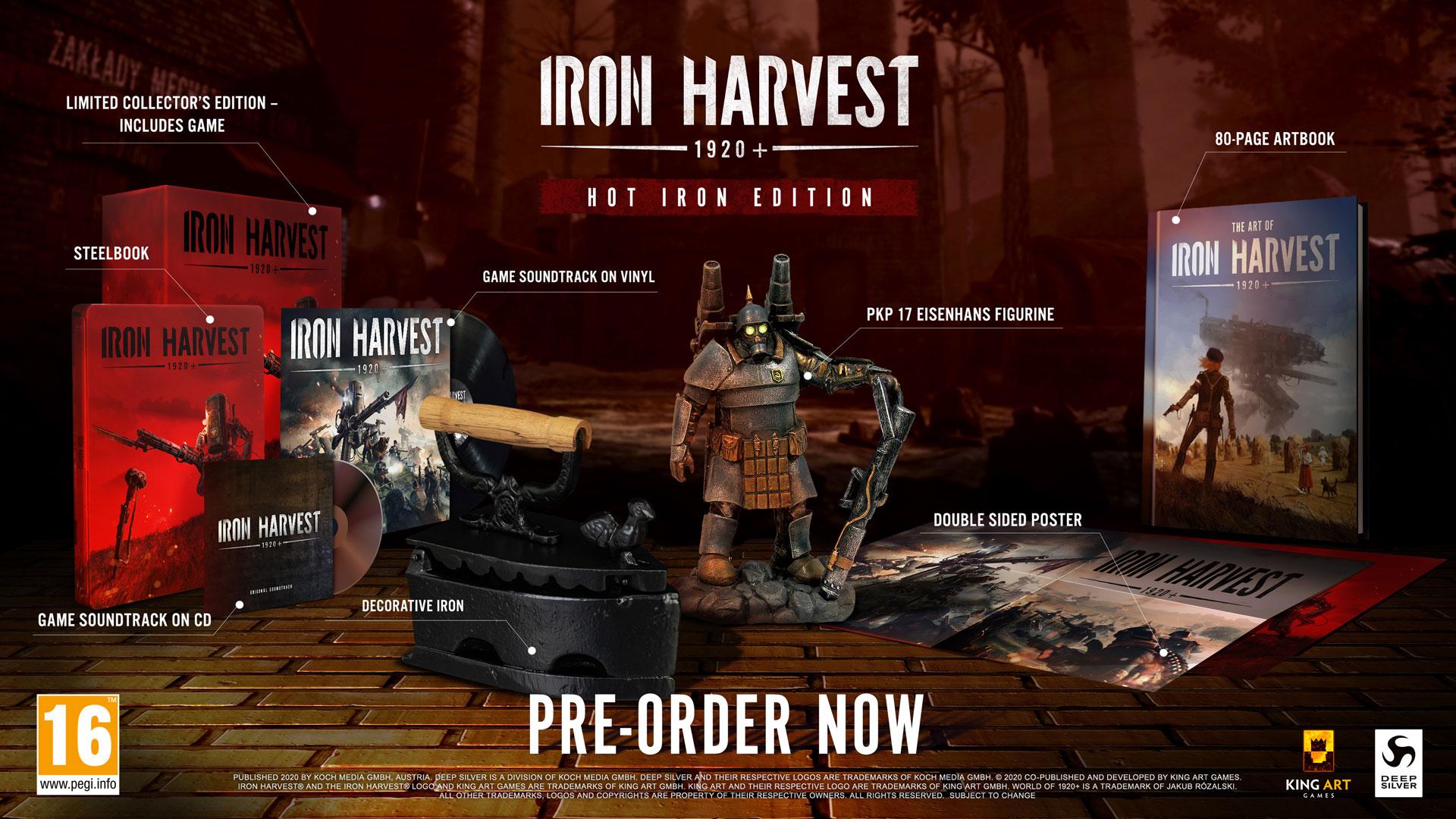 Iron Harvest 1920+ Hot Iron Edition