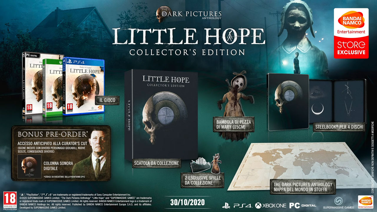 The Dark Pictures Anthology: Little Hope, data di uscita e versioni speciali 1