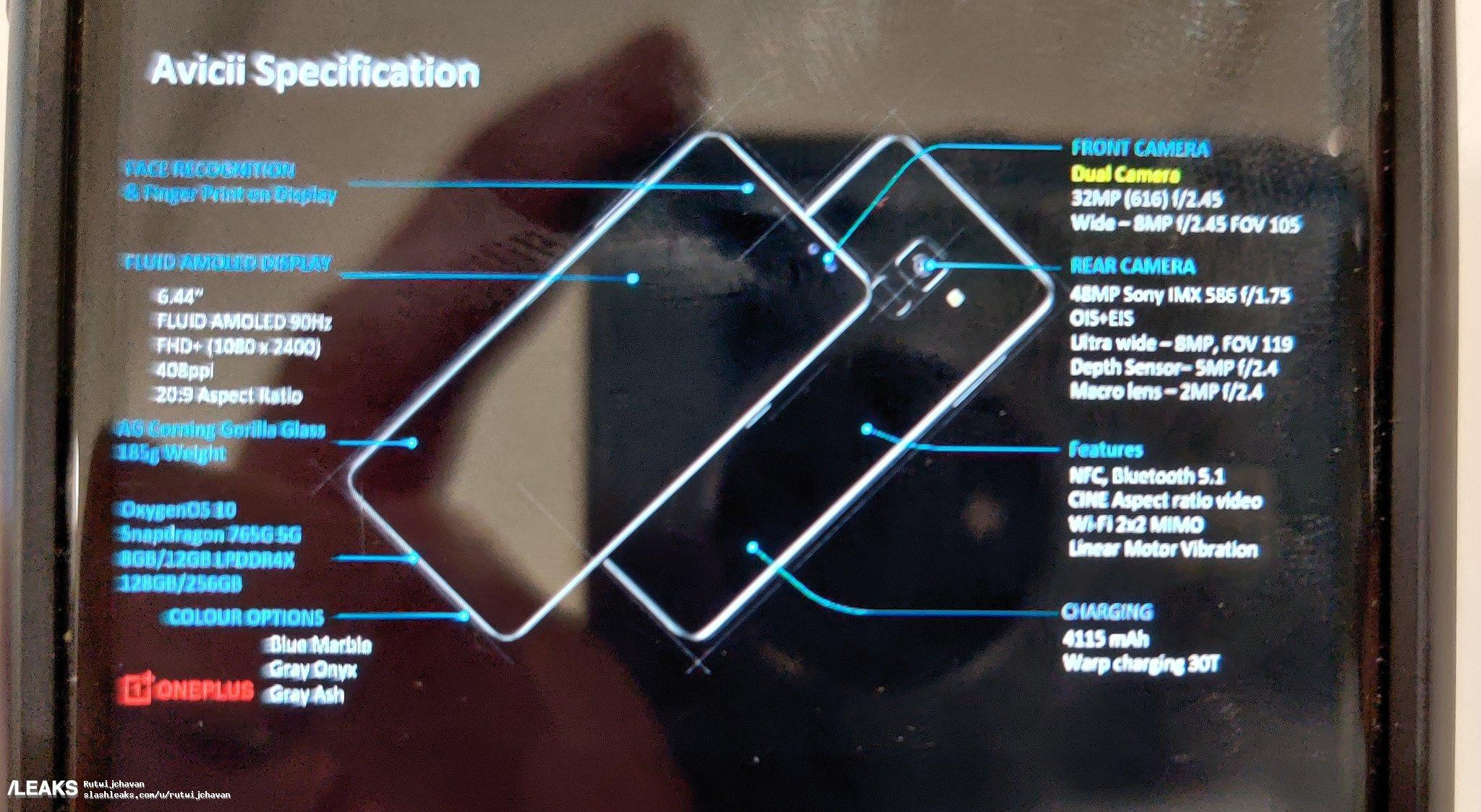 OnePlus Nord specifiche