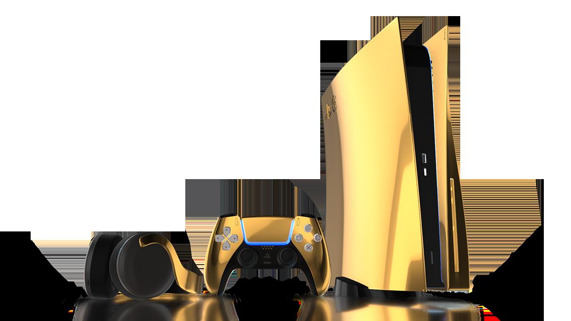 PS5: in arrivo una versione placcata in oro a 24 carati 1