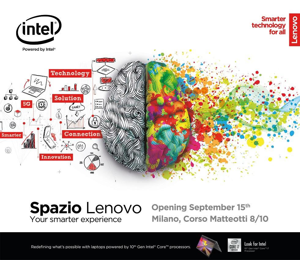 Spazio Lenovo aprirà a Milano il prossimo 15 Settembre 1
