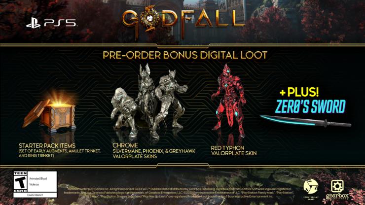 Godfall: presentata l'edizione speciale Ascended Edition 2