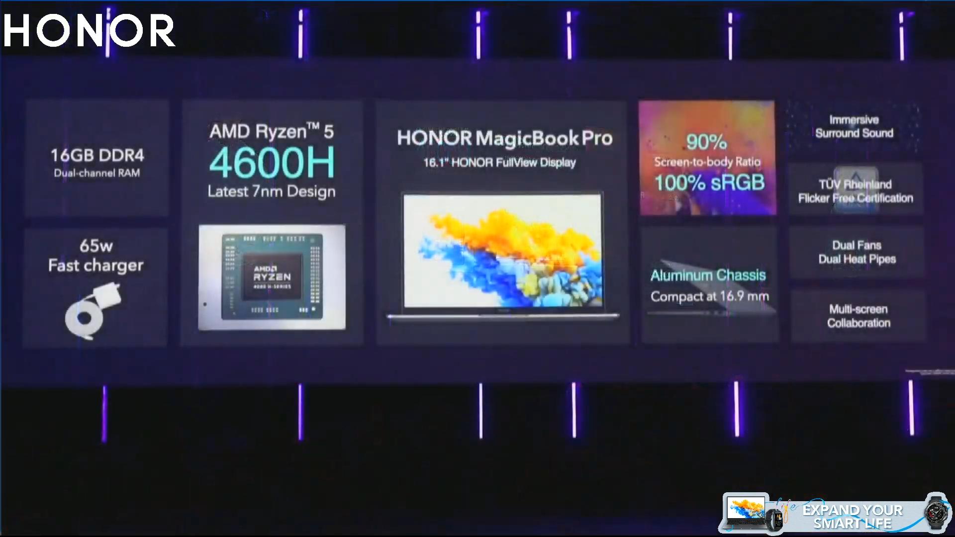[IFA 2020] Presentati i prossimi Honor Watch, MagicBook e Pad 6 5