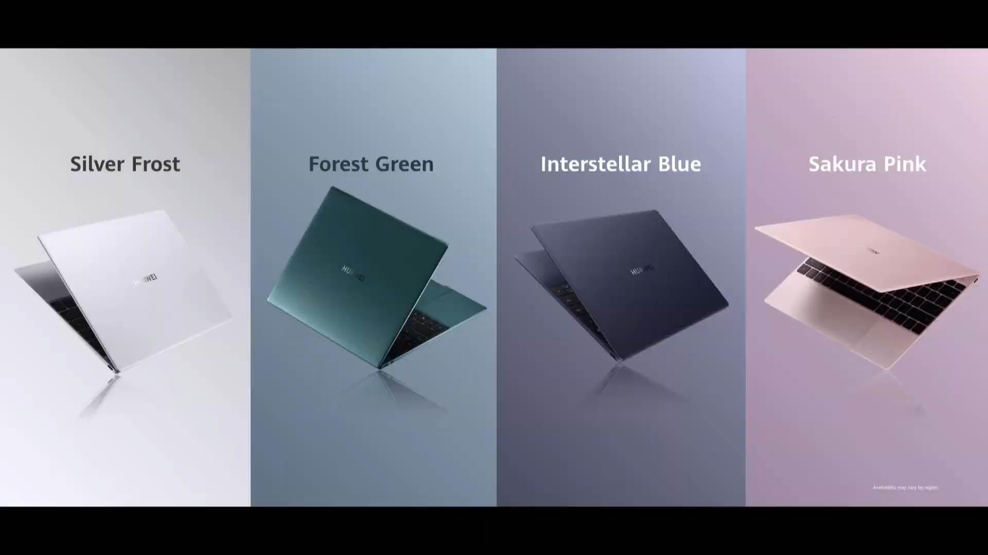 MateBook X colorazioni