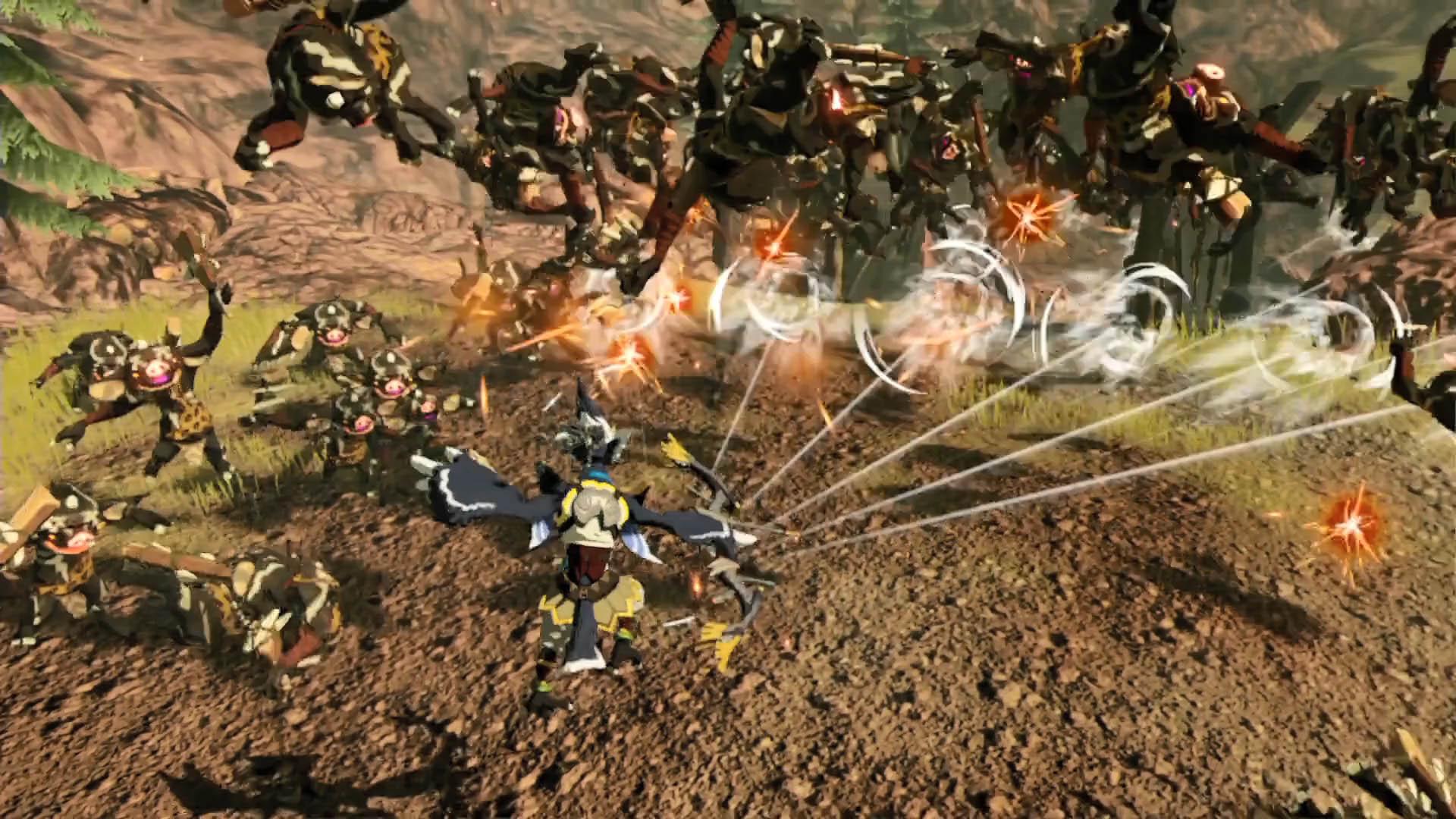 Hyrule Warriors: L'era della calamità si mostra nel primo trailer 2