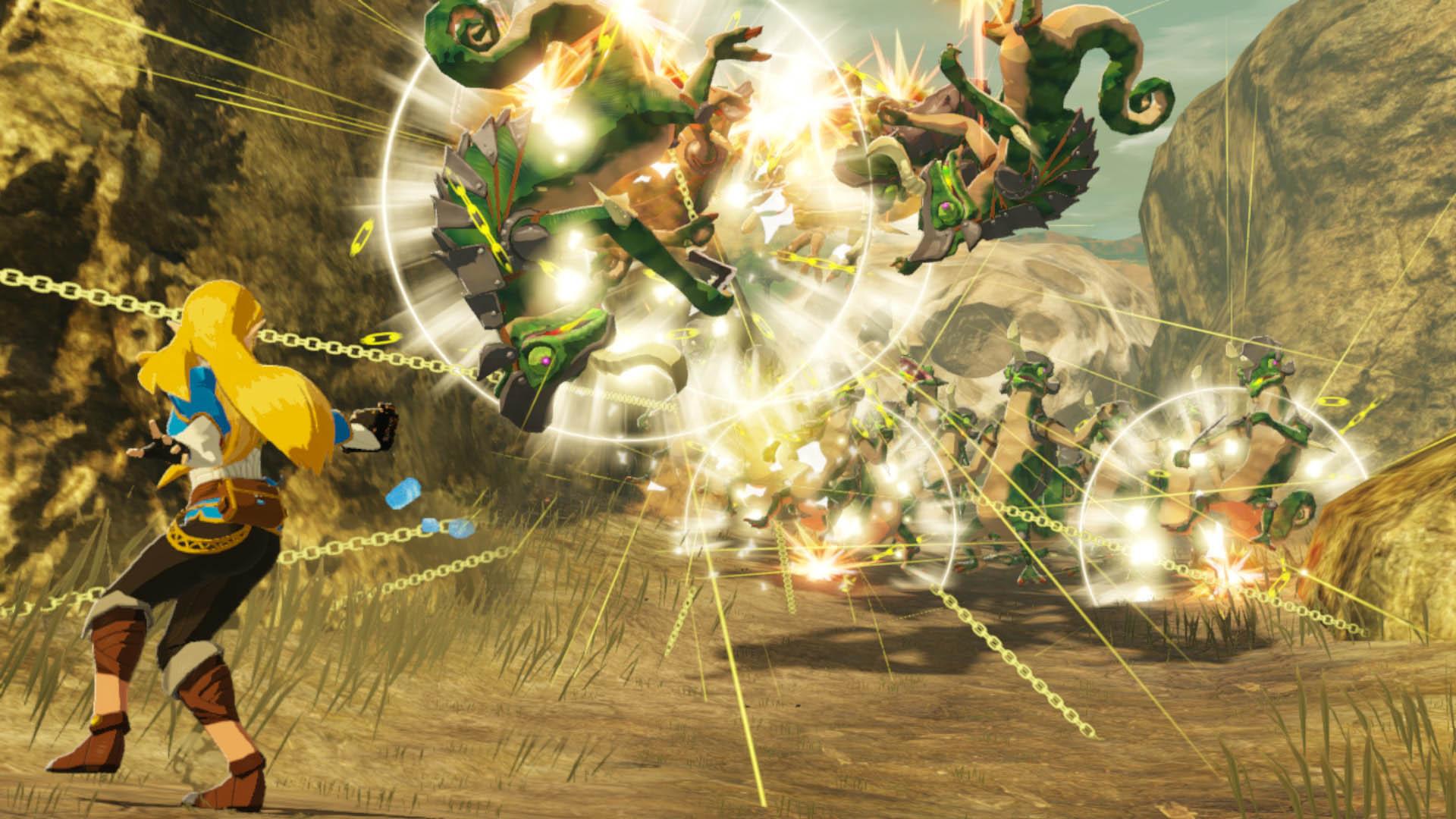 Hyrule Warriors: L'era della calamità si mostra nel primo trailer 6