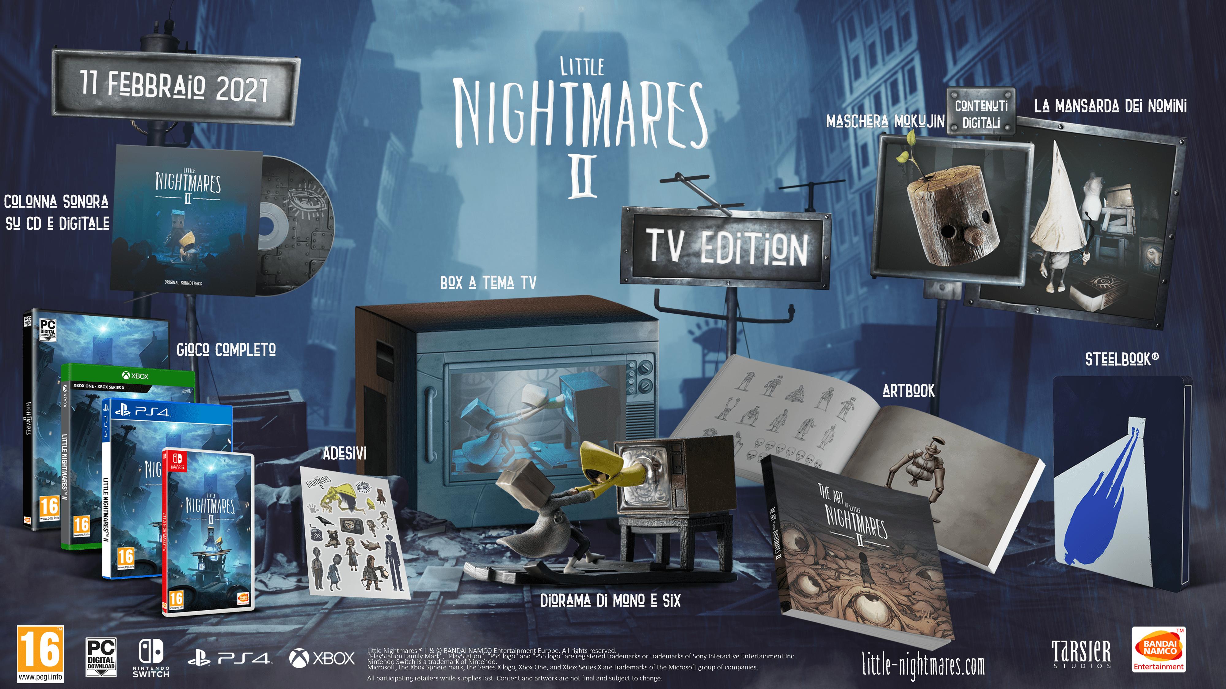 Little Nightmares II: i contenuti della Day-One Edition e TV Edition 2