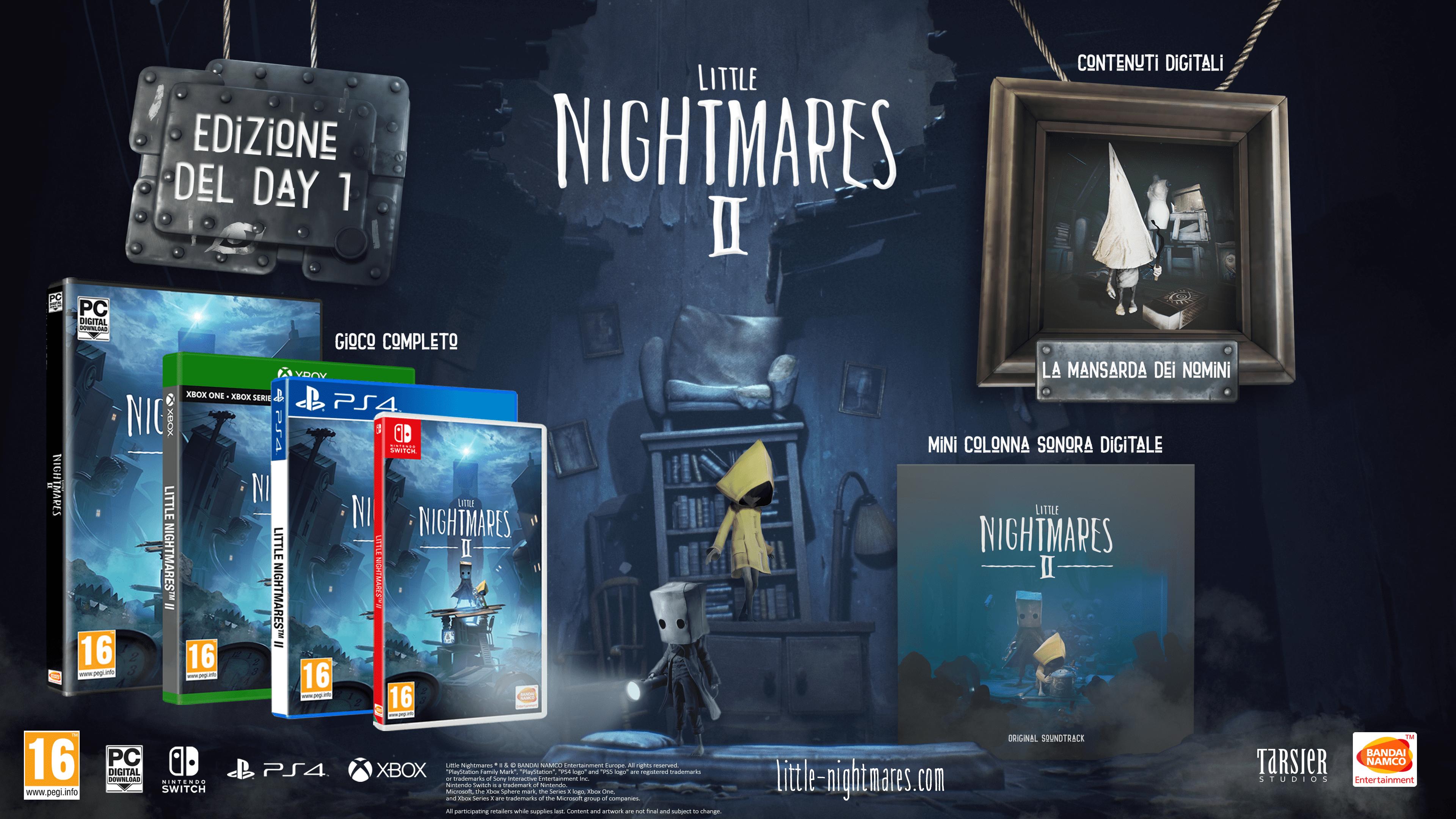 Little Nightmares II: i contenuti della Day-One Edition e TV Edition 1