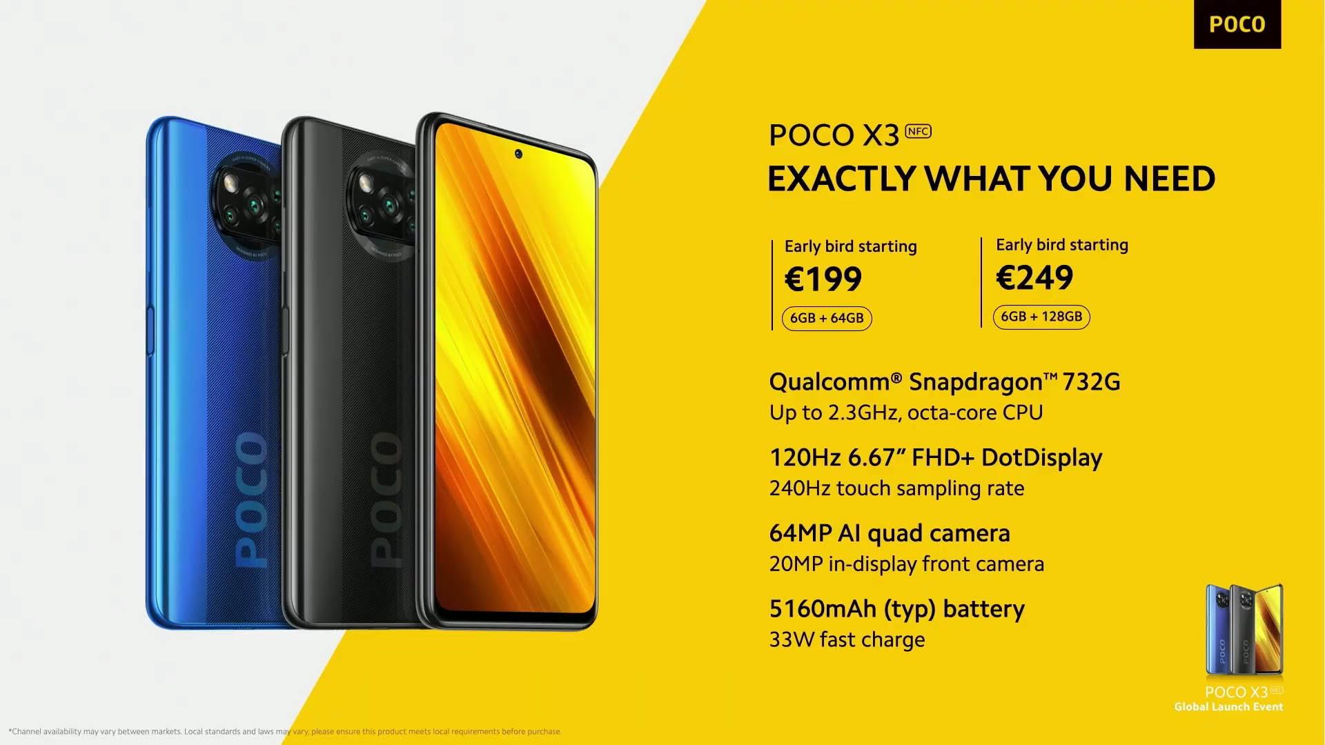 Poco X3 NFC è ufficiale: caratteristiche tecniche e prezzo 10